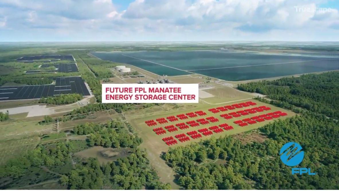 Manatee Energy Storage Center Florida Power Light