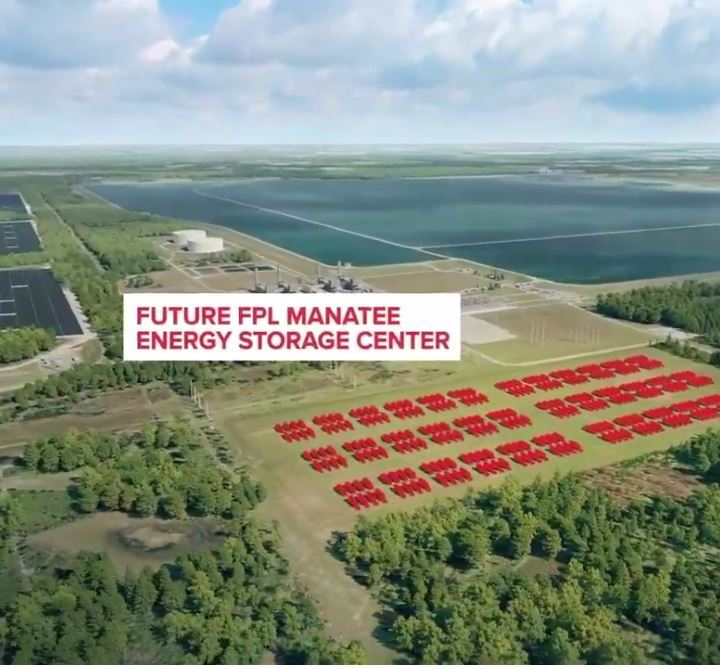 Manatee Energy Storage Center Florida Power Light